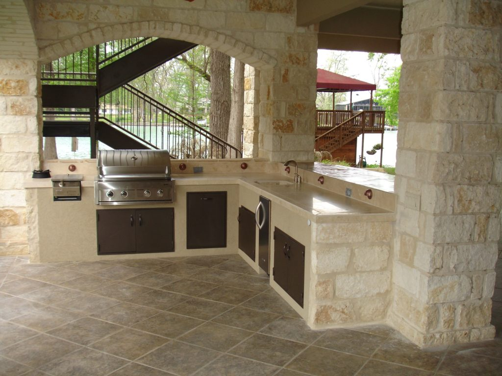 Austin Outdoor Kitchens & Barbecue Islands – Austin Pool ...